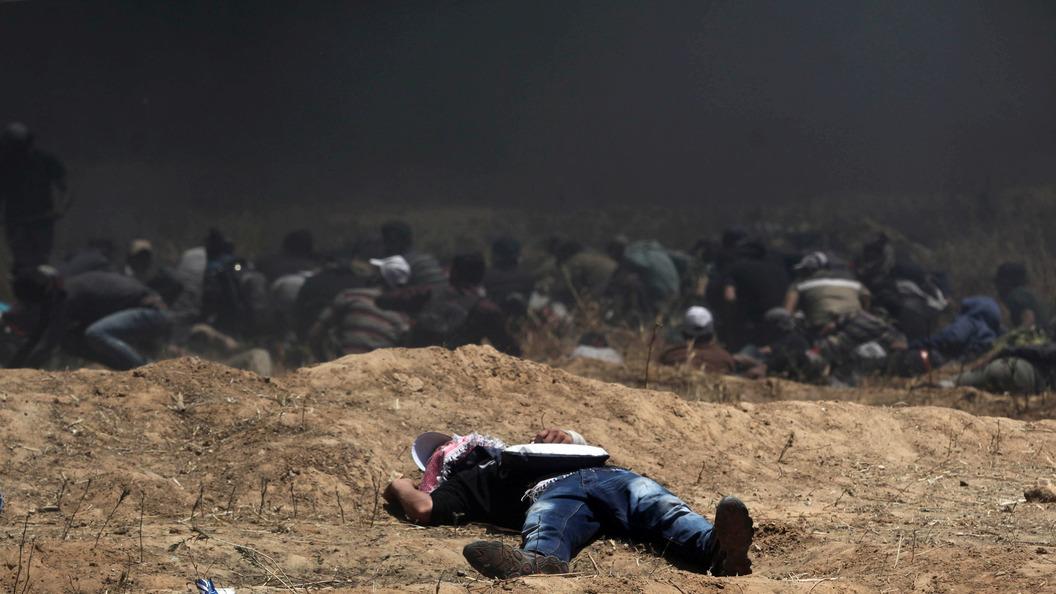 Постпред США ворганизации ООН  демонстративно покинула совещание , невыслушав посла Палестины