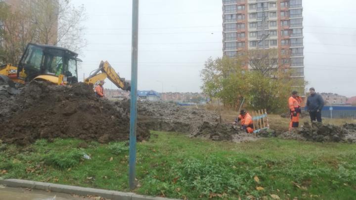 Из-за крупной коммунальной аварии в Ростове-на-Дону без воды остались десятки домов