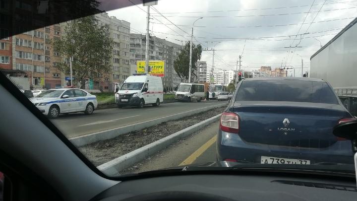 В Иванове в ДТП пострадали три пожилых человека