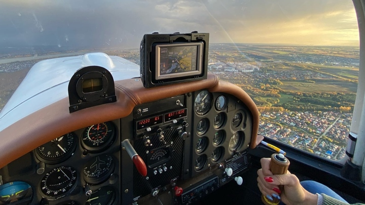 Небо. Самолёт. Девушка: Как сибирячка стала пилотом