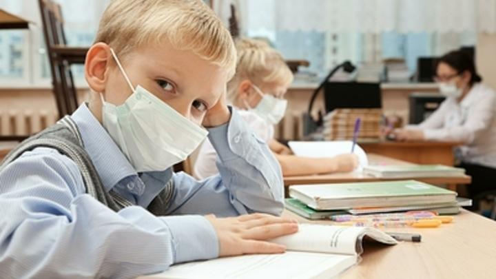 В Челябинской области школьники массово болеют ОРВИ
