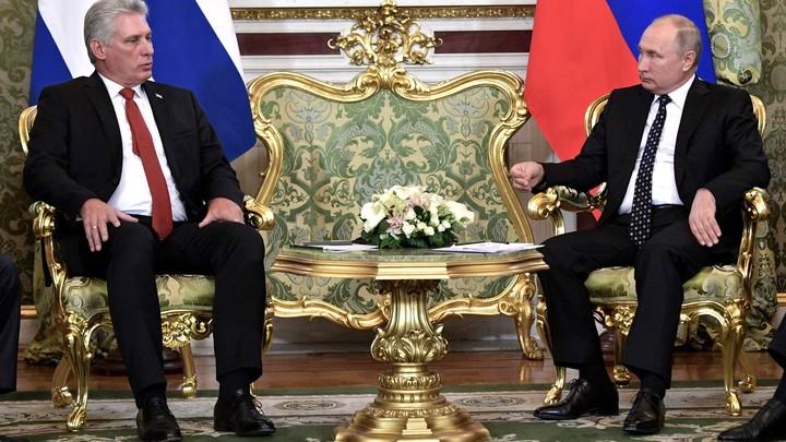 Спутник ГЛОНАСС летит над Островом свободы: Путин поможет Кубе выдержать санкционный удар США