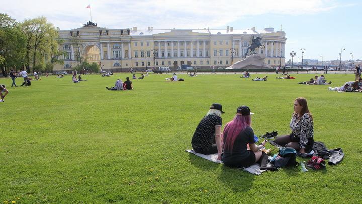 Пляжный сезон на газоне: стало известно, где в Петербурге можно загорать на траве