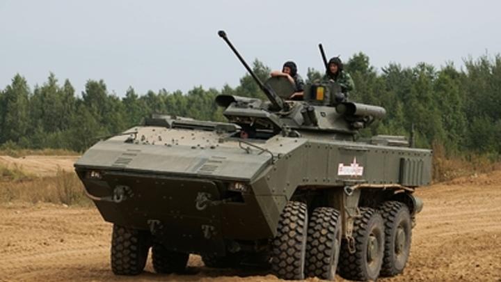 Новый колесный танк России станет грозой террористов