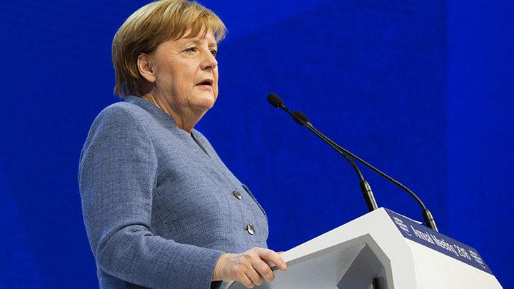 Меркель бросила вызов Трампу в Давосе