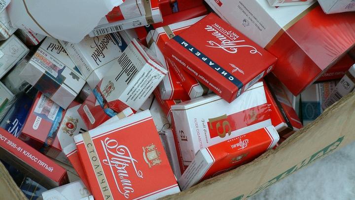 В Подмосковье накрыли склад с незаконным табаком на полмиллиона рублей