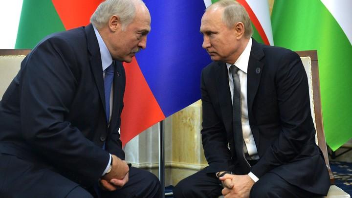 Нет даже мысли такой: Путин ответил на эмоциональный вопрос о вхождении Белоруссии в состав России