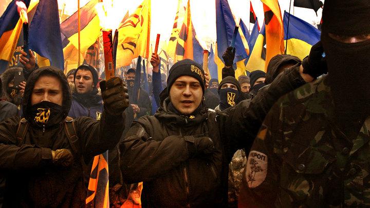 Бандеровцы идут на Киев