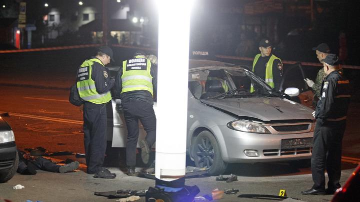 В Нацполиции Украины рассказали, что могло стать причиной взрыва авто в Киеве