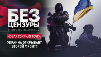 Новая горячая точка: Украина открывает второй фронт?