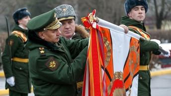 Сергей Шойгу поздравил военных героев России с Новым годом и Рождеством