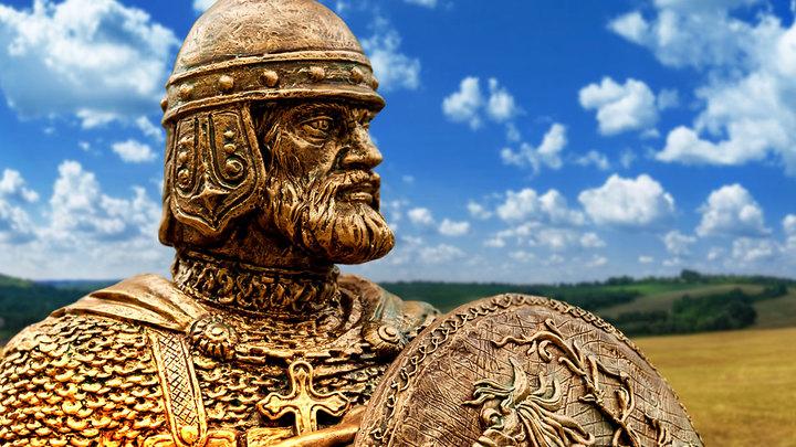 Русский богатырь Илья Муромец не знал, что Киев — столица Украины