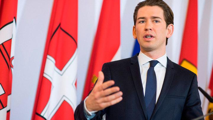 Канцлер Австрии продавит отмену санкций против России