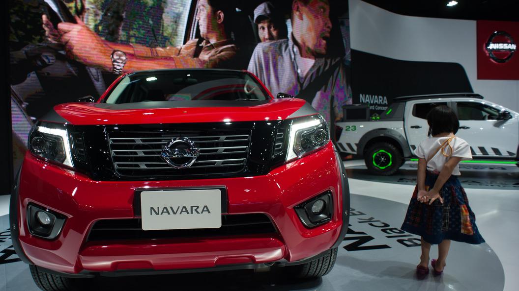 Nissan Navara в Китае продается за 1,2 млн рублей
