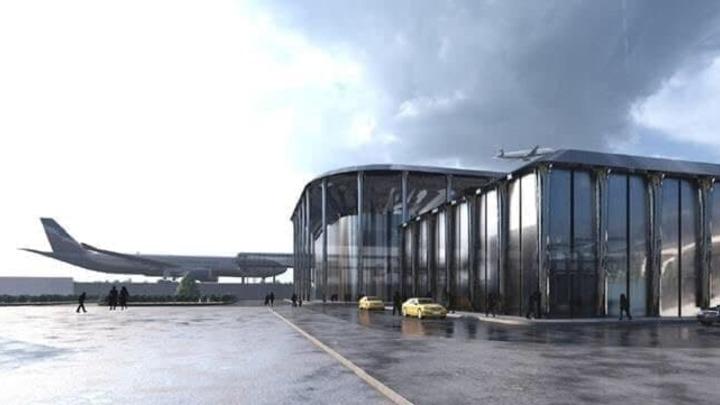 Сергей Цивилёв показал эскизы нового терминала новокузнецкого аэропорта