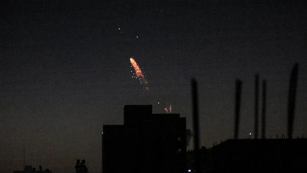 ХАМАС отомстил Израилю за бомбардировки Газы семнадцатью ракетными ударами