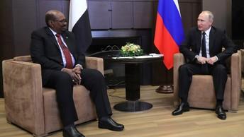 Путин обсудил с президентом Судана создание базы ВМФ России на Красном море