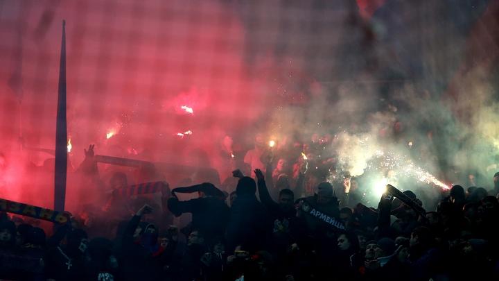 УЕФА оштрафовал ЦСКА на 30 тысяч евро