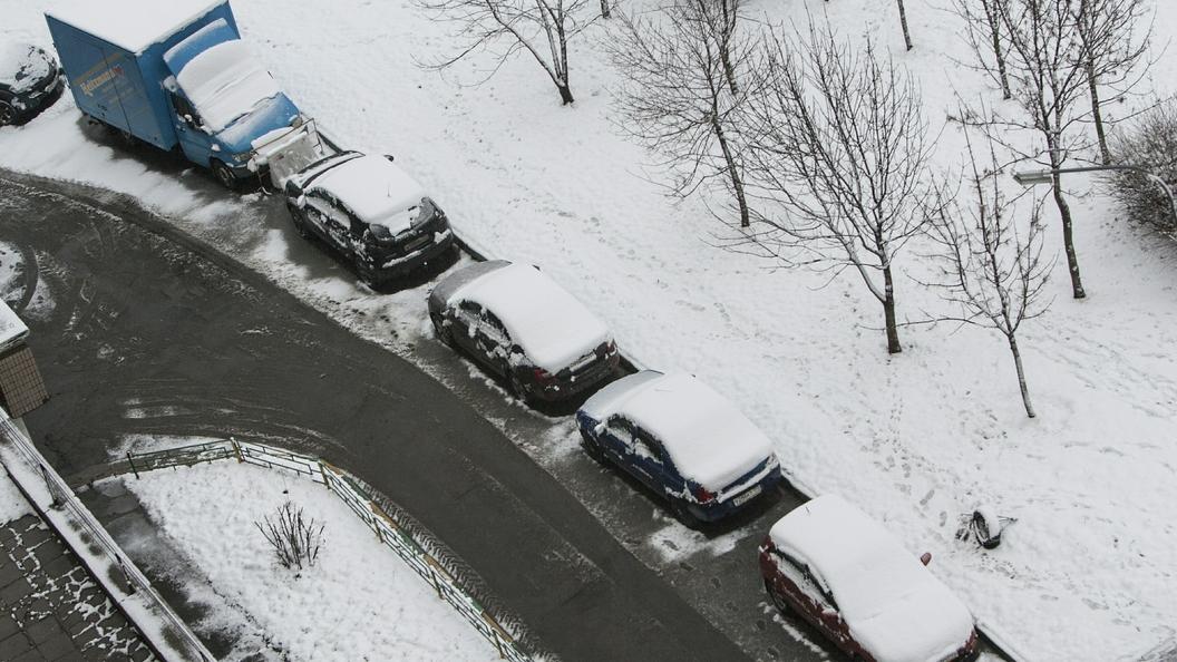 Только снег и холод: В Москве ожидается пасмурная погода до -6 °С