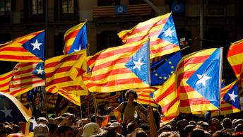 Мы полны надежды: Миллион каталонцев прошли маршем по Барселоне, выступая за референдум