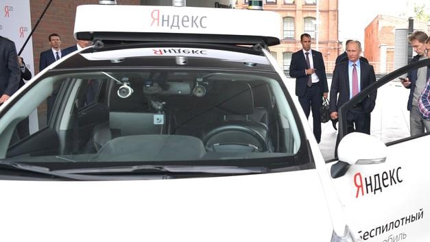 Яндекс обкатал свой беспилотник на заснеженной дороге в Подмосковье