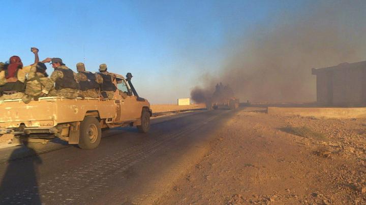 Российские военные опровергли информацию о сдаче Абу-Камаля террористам