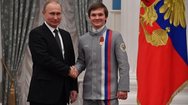 Коляда признался, что встреча с Путиным дала заряд энергии перед ЧМ