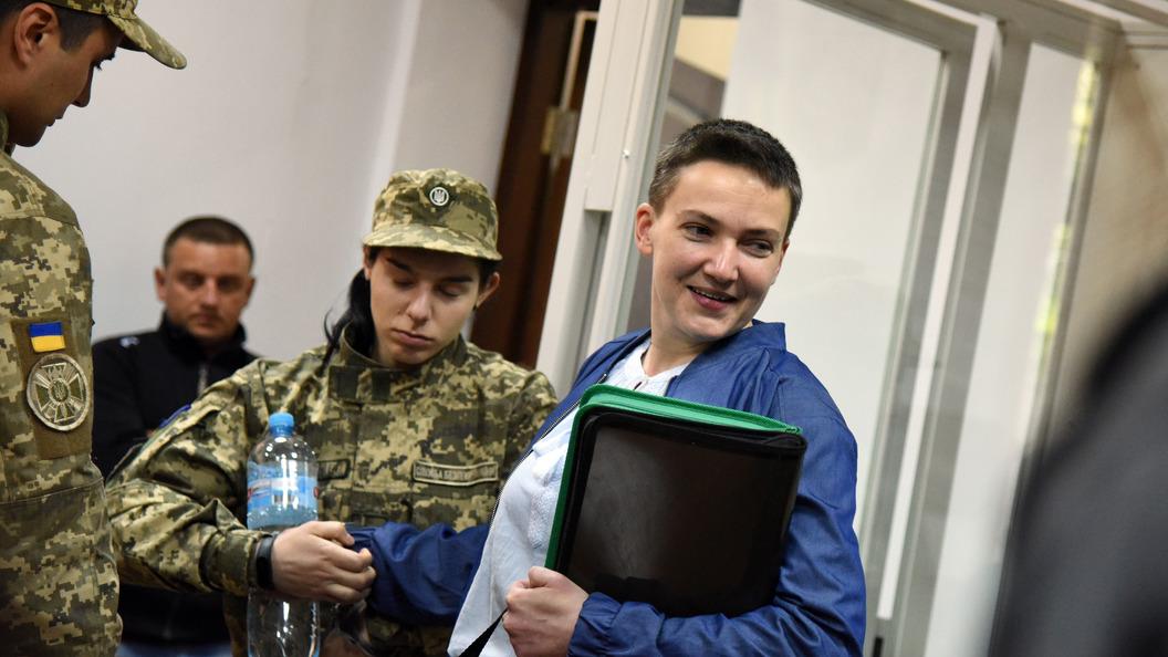 Савченко отыскала причину закончить голодовку вСИЗО
