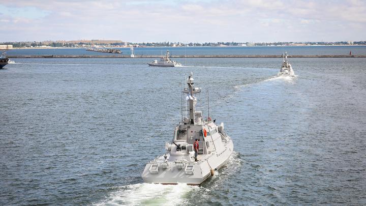 Китайцы повеселились над военно-морскими учениями государства Украины