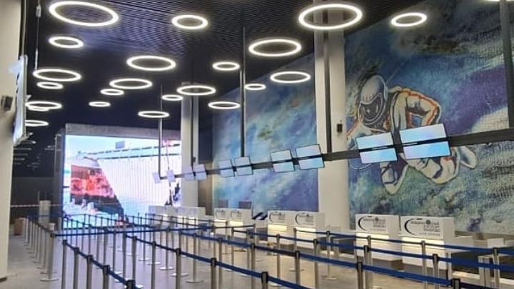 На открытие нового аэропорта в Кемерове приедут знаменитости