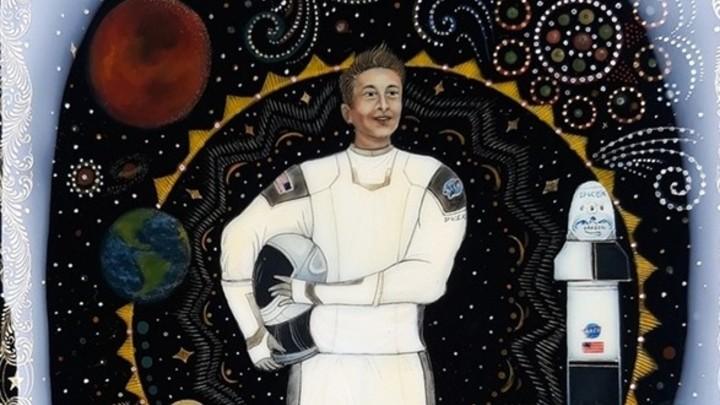 Как тебе такое, Илон Маск: бизнесмена изобразили на палехской шкатулке