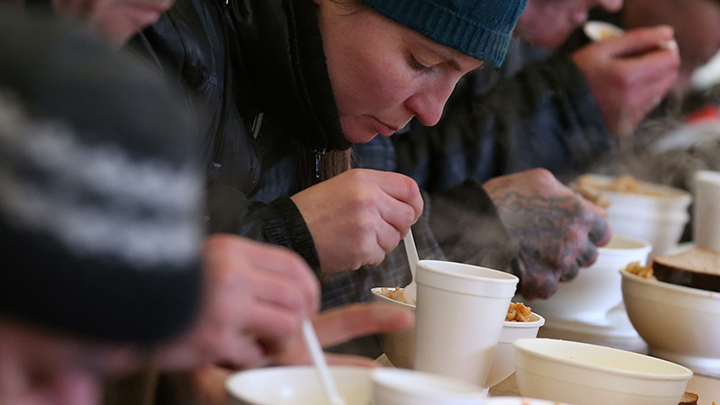 Бездомные получили Надежду