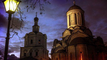 Андроников монастырь: Cтрельба на костях
