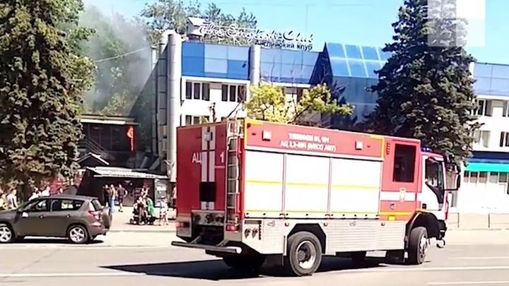 В центре Челябинска известный ночной клуб пережил пожар