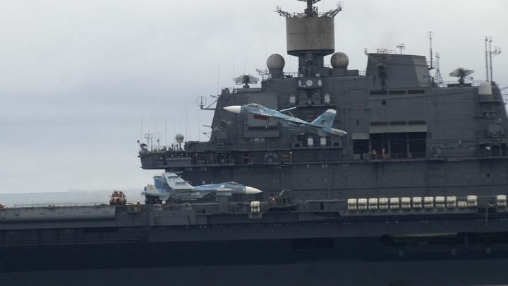 Единственный российский авианосец принял нового командира