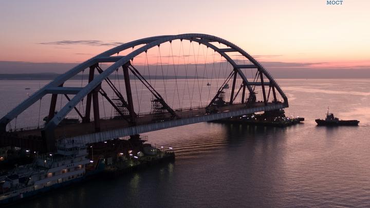 Ганжара: Заявления о ядовитости Крымского моста - это предел, Киев бьется в агонии