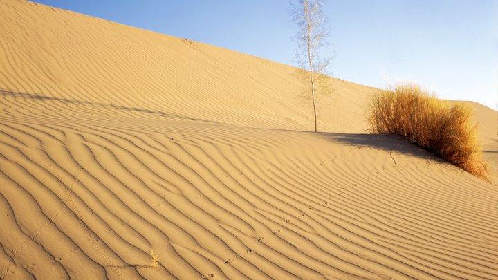 Африканская пыльная буря обрушилась на Крит