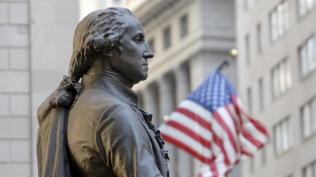 ВСША монумент Джорджу Вашингтону демонтируют зарабовладение