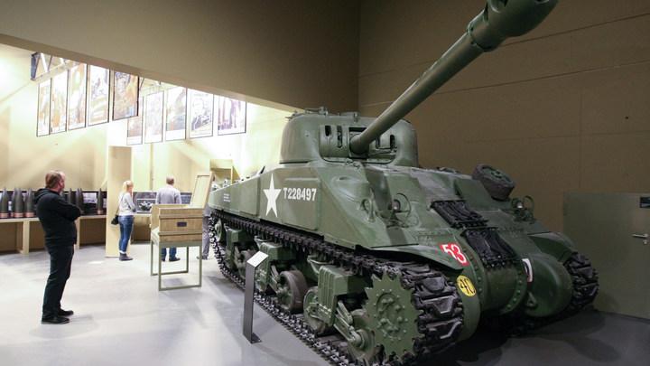 Российские военные к 9 мая отреставрируют американский танк Шерман