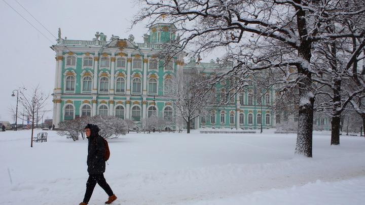 Снег и метели: что принесет в Санкт-Петербург и Ленобласть циклон «Кристоф»