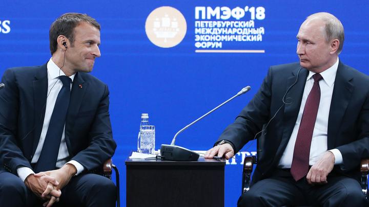 «Дорогой Владимир»: Макрон добивается доверия Путина