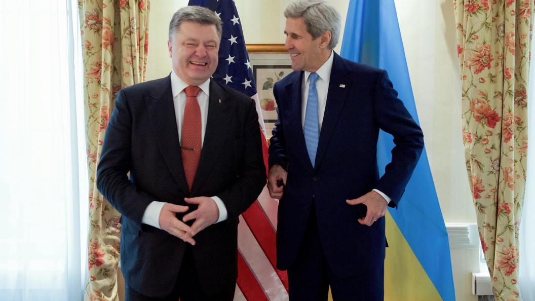Порошенко увидел в принятии санкций Конгрессом США поддержку Украины
