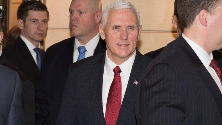 Майк Пенс расстроился, узнав, что «баллотируется в президенты»