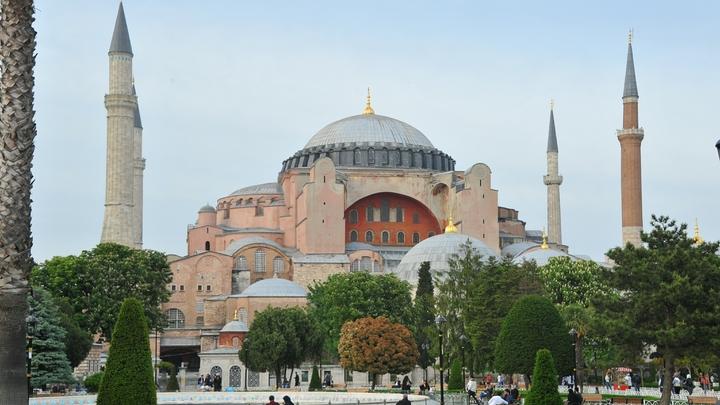 Эрдогану пришлось ответить на вопрос Путина о соборе Святой Софии