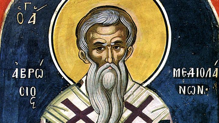 Святитель Амвросий, епископ Медиоланский. Православный календарь на 20 декабря