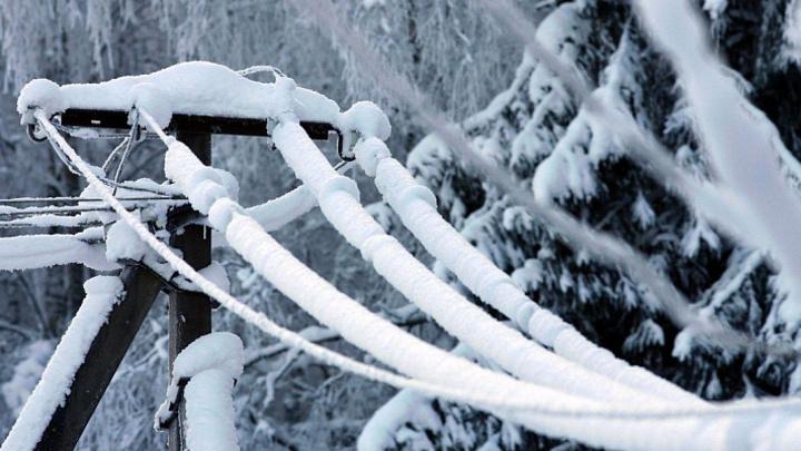 Ухудшение погоды в Сочи: На курорте ожидается сильное налипание снега на проводах и деревьях