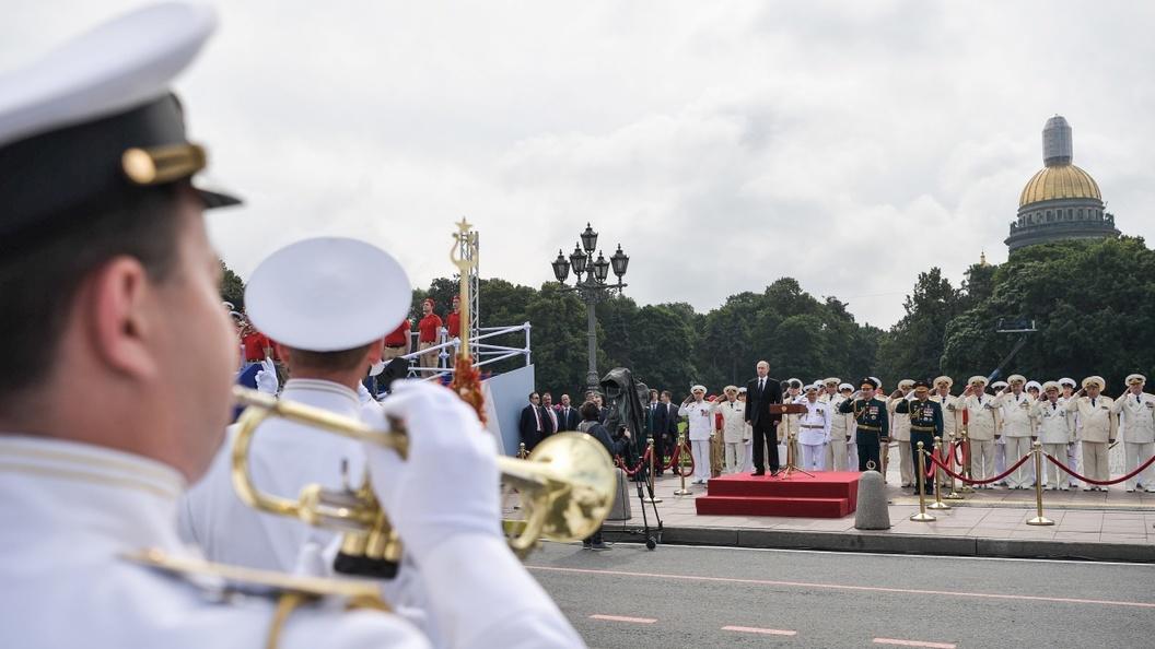 Парад ВМФ показал - флот снова жив