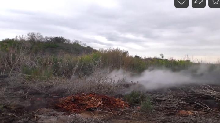 В Челябинске угарный газ от подземного пожара в закрытой шахте несет на жилой квартал