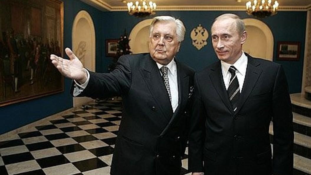Российская академия художеств скорбит об уходе из жизни Глазунова и целой эпохи