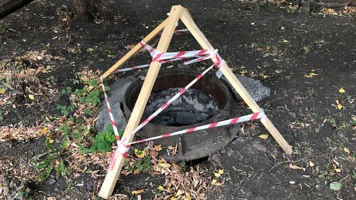 В Челябинске задержали вора, который унес 30 крышек с колодцев